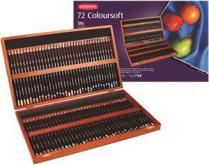 72 Derwent Colour Pencils