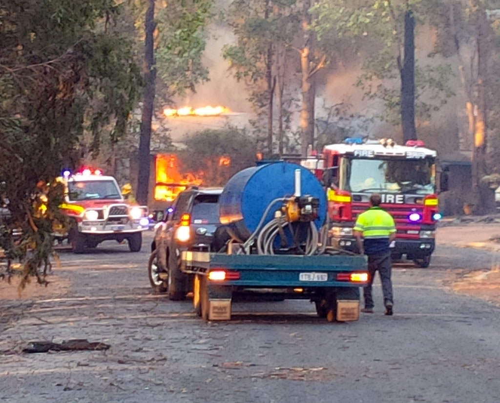 Community Emergency Fire Response